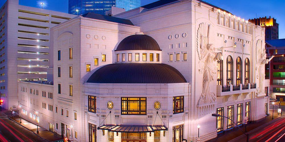 Fort Worth Opera House Nighttime Photography