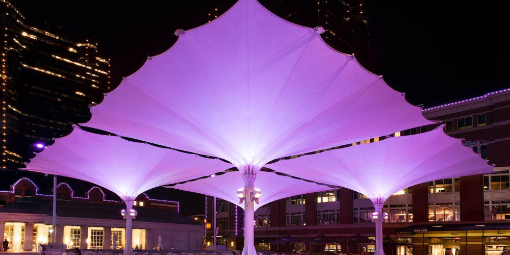 Sundance Square Umbrellas Fort Worth TX
