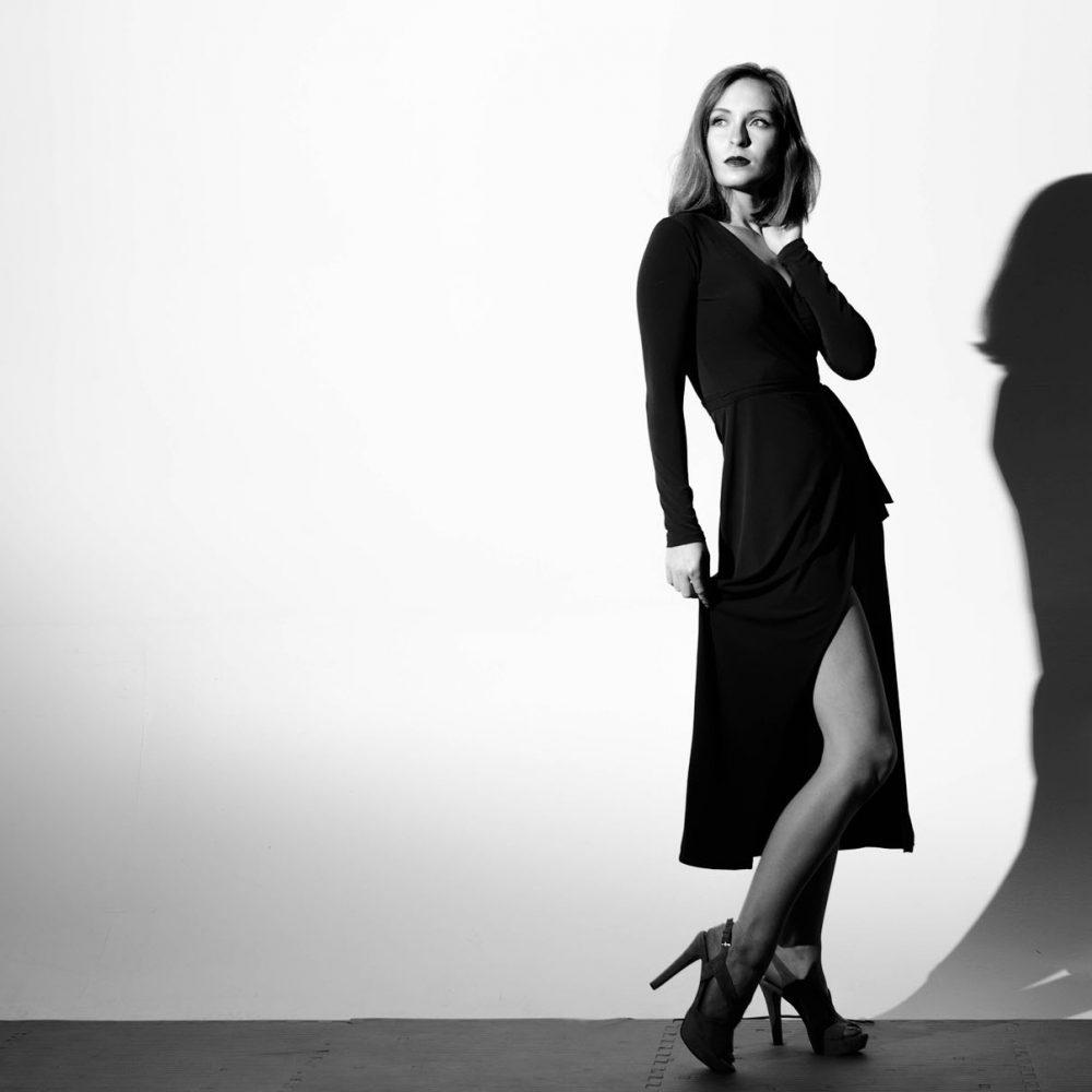 Black & White Beauty Photographer Austin TX
