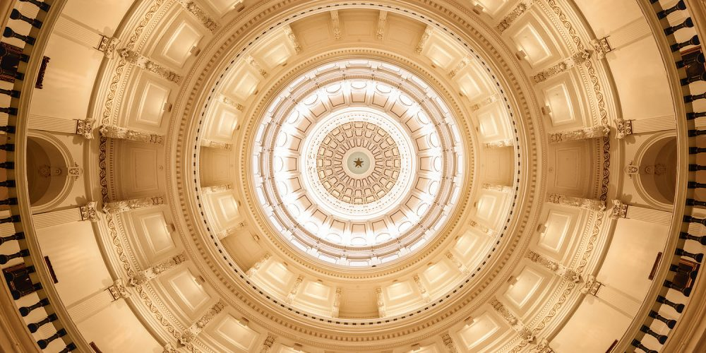 Texas State Capitol Building austin Art Photography