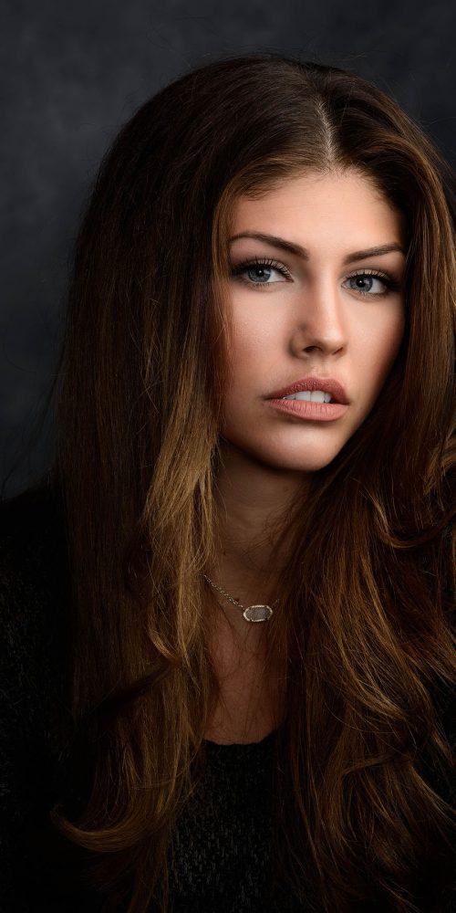 Professional Headshot Photo of Female Model in Austin TX