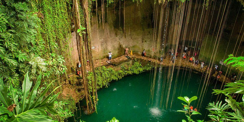 Cenote IK KIL Yucatan Mexico Landscape Photography