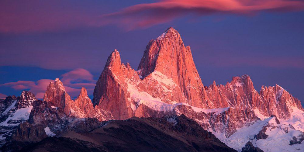 El Chalten Sunrise Patagonia Argentina