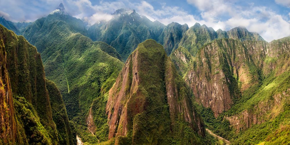 Machu Picchu Andes Mountains Landscape Photography