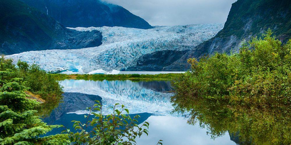 Mendenhall Glacier Juneau Alaska Landscape Photography